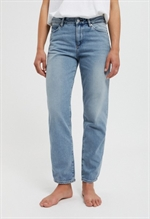 Armedangels Fjellaa cropped mid blue jeans