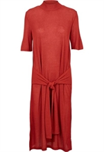 Basic Apparel kjole, BA9379 Disa Dress ketchup