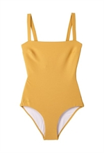 Liewood badedragt i recycled polyester, LW14135 Patricia Swimsuit yellow mellow