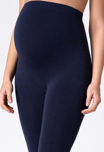 Bambus graviditetsleggings i navy