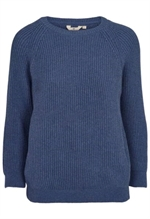 Basic Apparel Nuria sweater i horizon blue