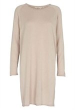 Basic Apparel Soya Dress i sand