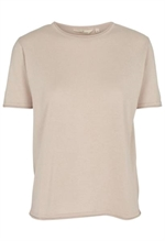 Basic Apparel Soya tee i sand