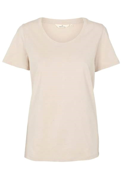 Basic Apparel Rebekka tee i sand