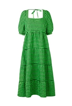 Cras Rillocras dress - ternet kjole i recycled polyester