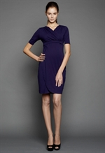 Dote vente- & ammekjole, Ellen Wrap Dress Navy