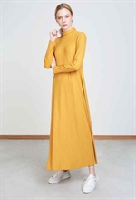 Jan n June Rory Dress i mustard