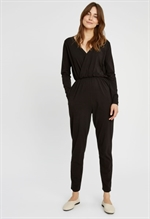 Jumpsuit Odette i sort