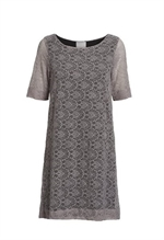 Önling blondekjole m modal, Anastasia Lace Dress Grey Rose